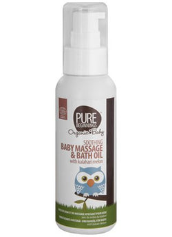 Pure Beginnings - Soothing Baby Massage and Bath Oil with Kalahari Melon