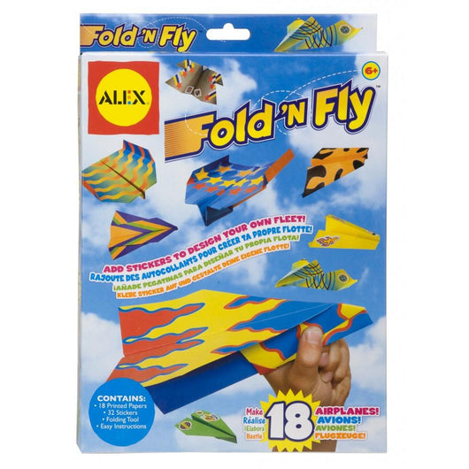 Alex - Fold N Fly Airplanes - Lil' Sprout