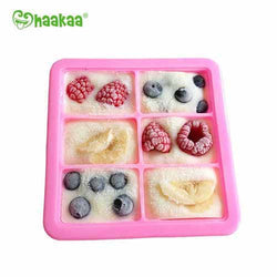 Haakaa - Silicone Baby Food and Breast Milk Freezer Tray