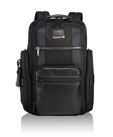 Tumi Alpha Bravo Barton Crossbody - Black