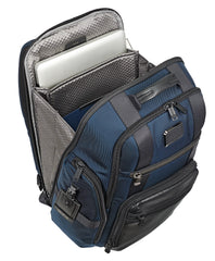 Tumi Alpha Bravo Sheppard Deluxe Brief Pack - Navy | MEGO