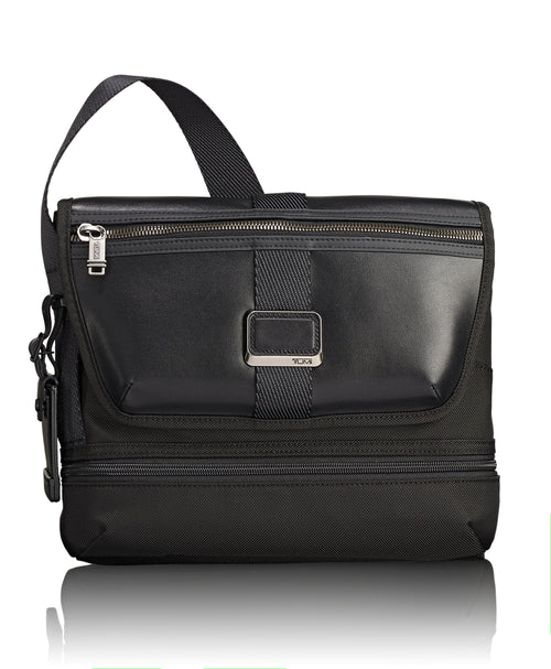 Tumi Alpha Bravo Travis Crossbody - Black | MEGO