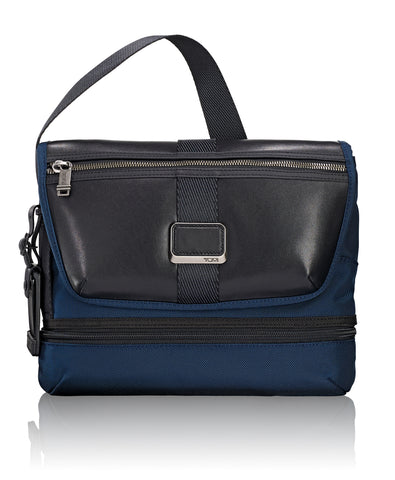 Tumi Alpha Bravo Sheppard Deluxe Brief Pack - Navy