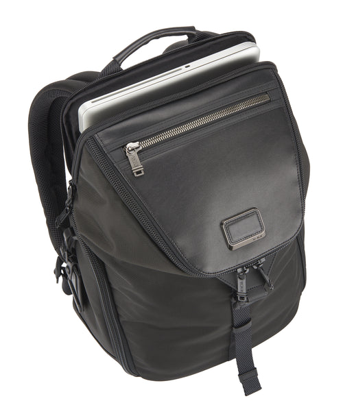Tumi Alpha Bravo Willow Backpack - Black | MEGO