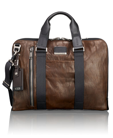 Tumi Alpha 2 Compact Large Screen Laptop Brief