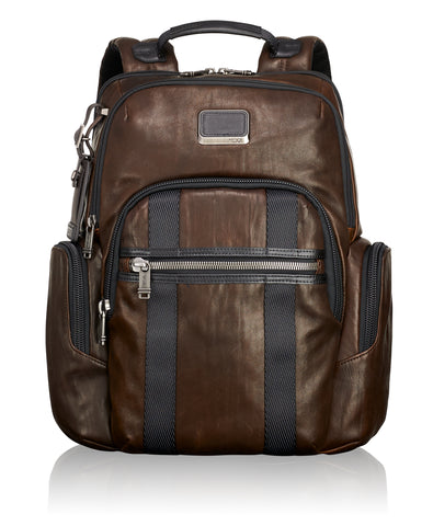 Briggs & Riley @Work Leather Slim Brief