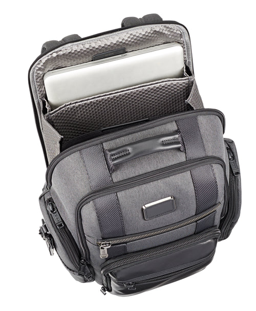 Tumi Alpha Bravo Sheppard Deluxe Brief Pack - Anthracite