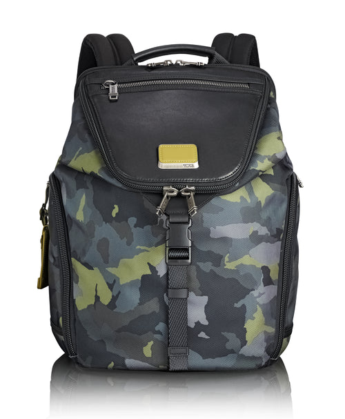 Tumi Alpha Bravo Willow Backpack - Green Camo | MEGO