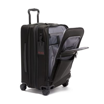 Tumi Alpha 3 International 4 Wheeled Office Carry On - Black