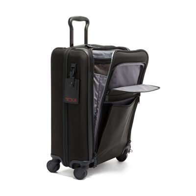 Tumi Alpha 3 International 4 Wheeled Slim Carry On - Black