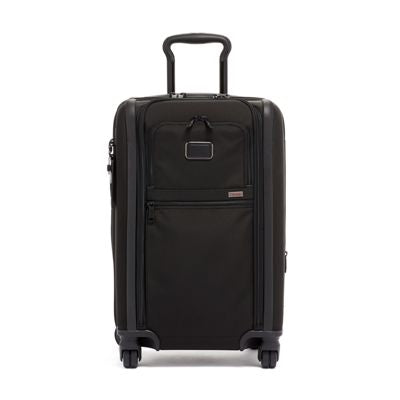 Tumi Alpha 3 International Dual Access 4 Wheeled Carry On - Black