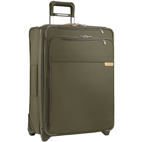 "Briggs & Riley Baseline 11"" Expandable Cabin Bag - Olive"