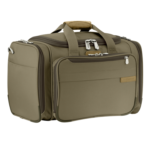 "Briggs & Riley Baseline 11"" Cabin Duffle  - Olive 