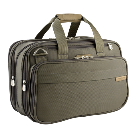 "Briggs & Riley Baseline 27"" Medium Upright Duffle - Olive"