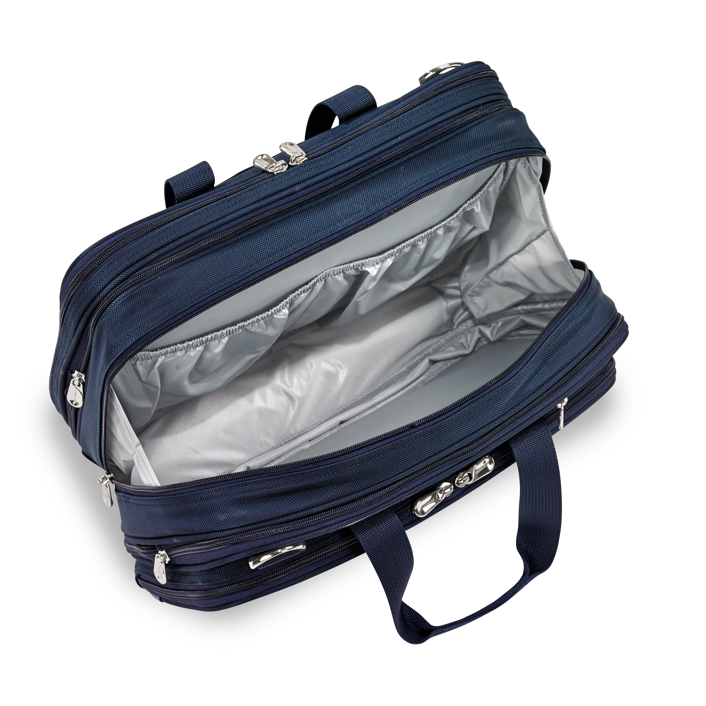 "BRIGGS & RILEY BASELINE 11"" EXPANDABLE CABIN BAG - NAVY 