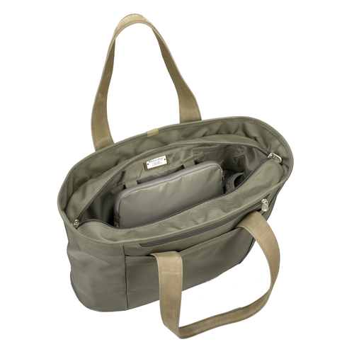Briggs & Riley Baseline Large Shopping Tote - Olive | MEGO