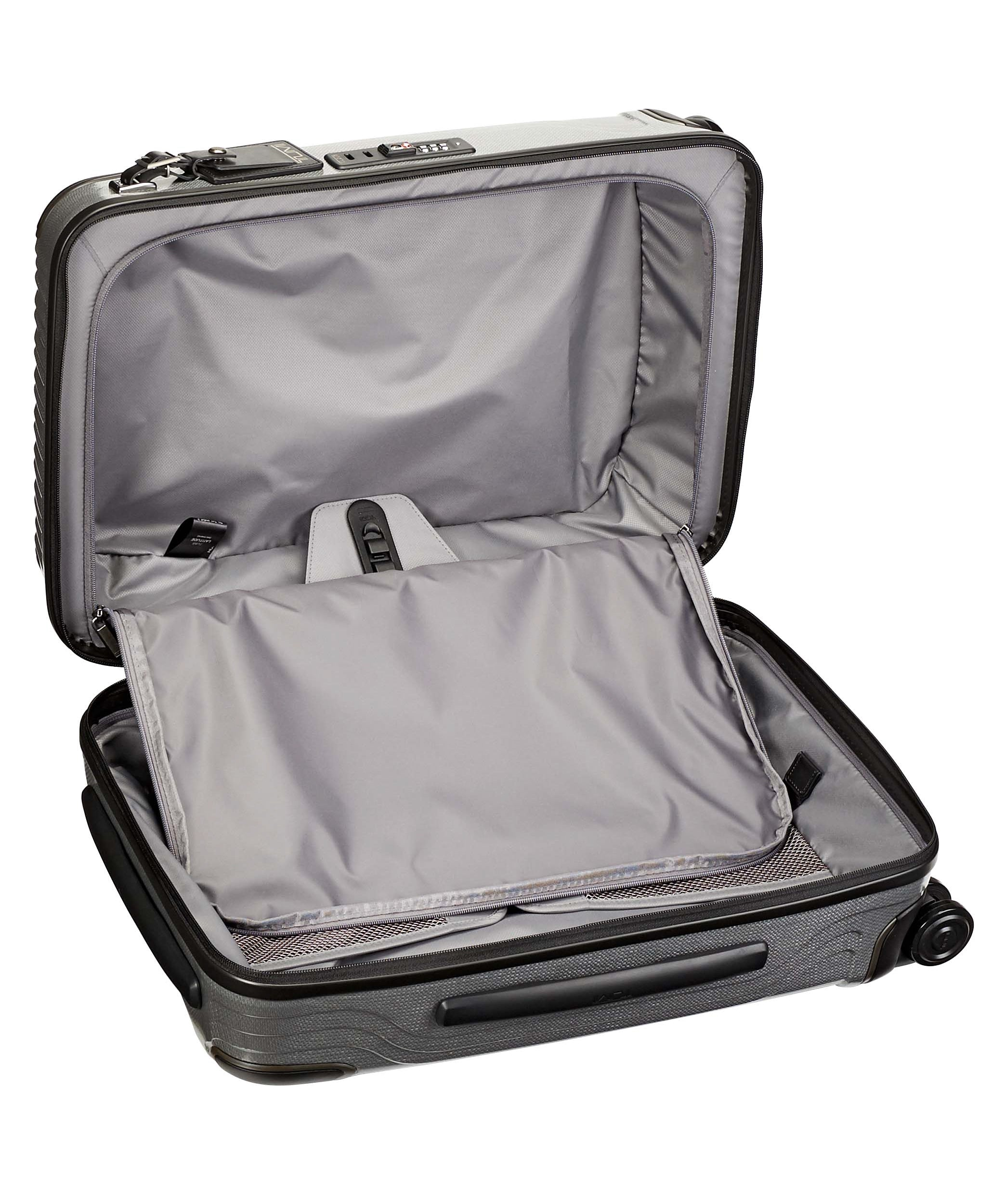 Tumi Latitude International Slim Carry-On-Silver | MEGO