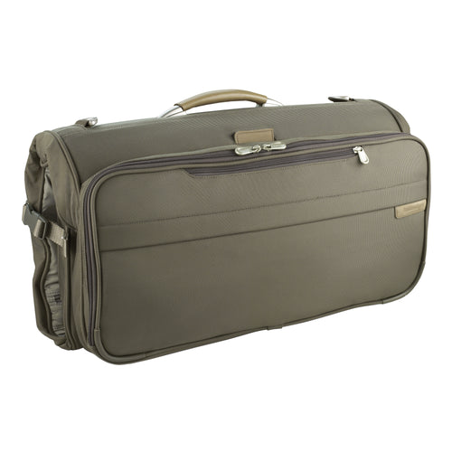 BRIGGS & RILEY BASELINE COMPACT GARMENT BAG - OLIVE | MEGO Canada