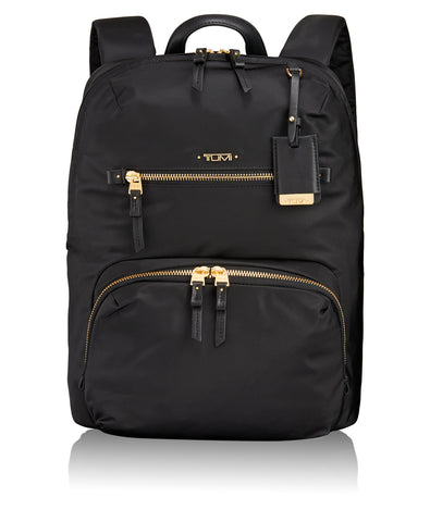 Tumi Voyageur Calais Leather Backpack - Grey