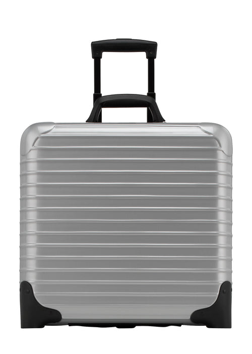 Rimowa Salsa Business Trolley - Classic Silver Metallic