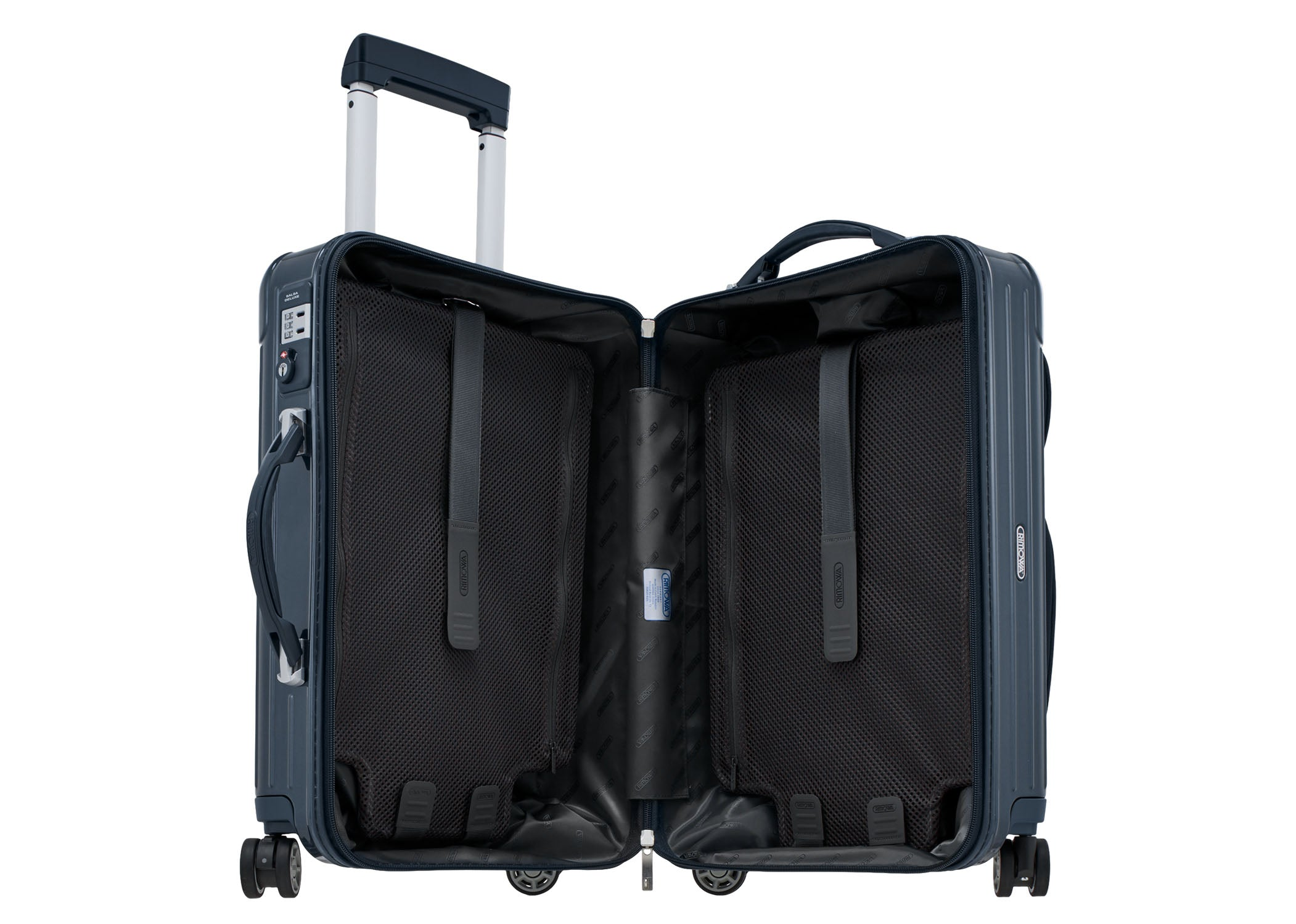 "Rimowa Salsa Deluxe Hybrid Cabin 22"" (53) Multiwheel Cabin IATA - 37.0L - Yachting Blue 