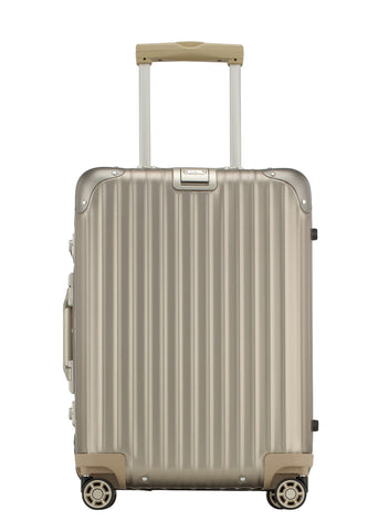 "Briggs & Riley Sympatico 30"" Large Expandable Spinner - Silver"