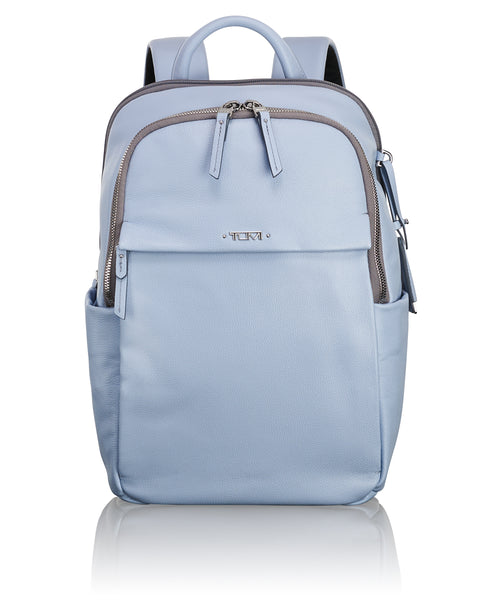 Tumi Voyageur Daniella Small Leather Backpack - Light Blue | MEGO