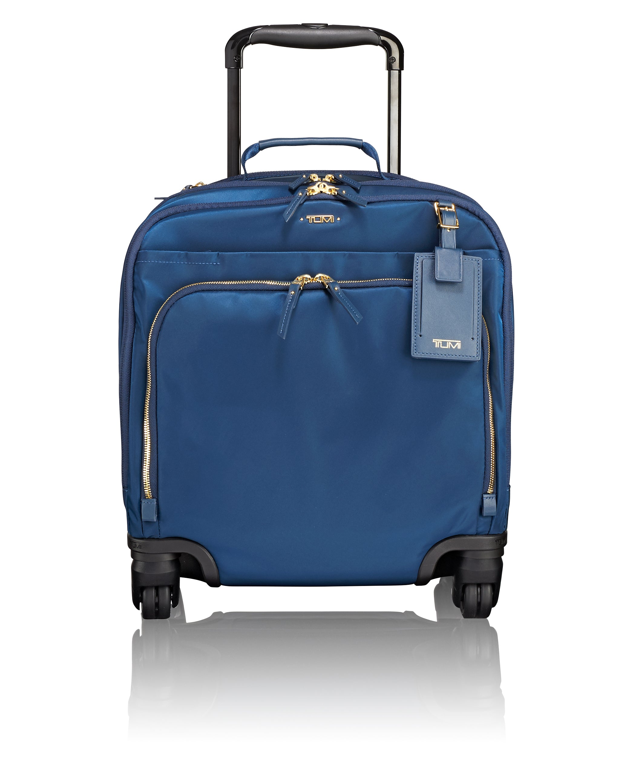 Tumi Voyageur Oslo 4 Wheeled Compact Carry on-Ocean Blue | MEGO