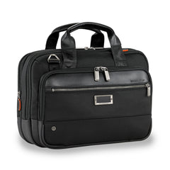 BRIGGS & RILEY @WORK SMALL EXPANDABLE BRIEF - BLACK