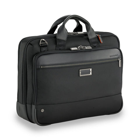 Briggs & Riley @Work Large Expandable Brief - Black