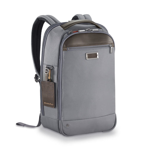 Briggs & Riley @Work Slim Backpack - Grey | MEGO