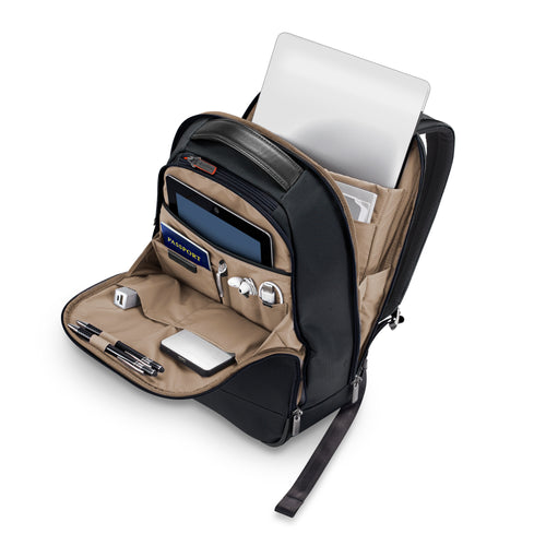 Briggs & Riley @Work Slim Backpack - Black | MEGO