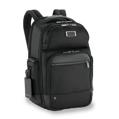 Briggs & Riley @Work Medium Cargo Backpack - Black | MEGO