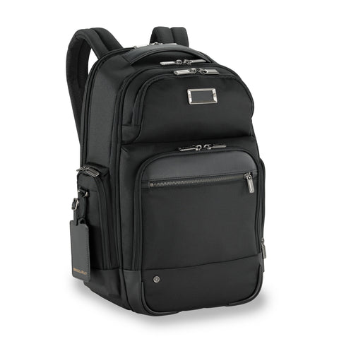 Tumi Alpha Bravo London Roll-Top Backpack - Black