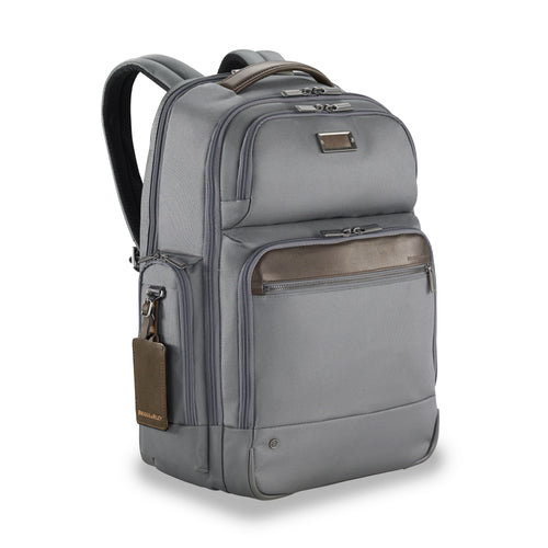 Briggs & Riley @Work Large Cargo Backpack - Grey | MEGO