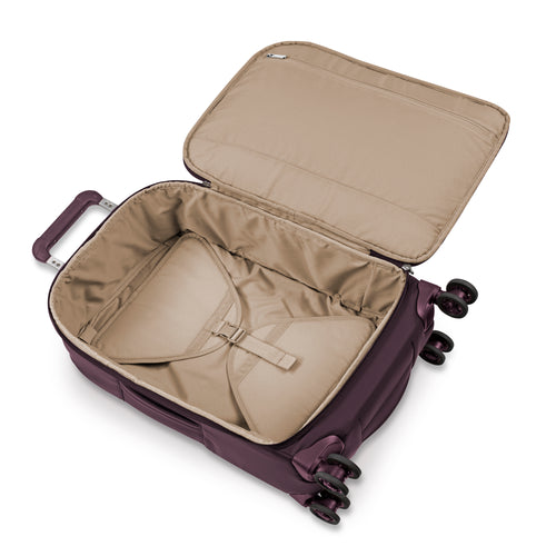 Briggs & Riley Rhapsody Tall Carry-on Spinner - Plum