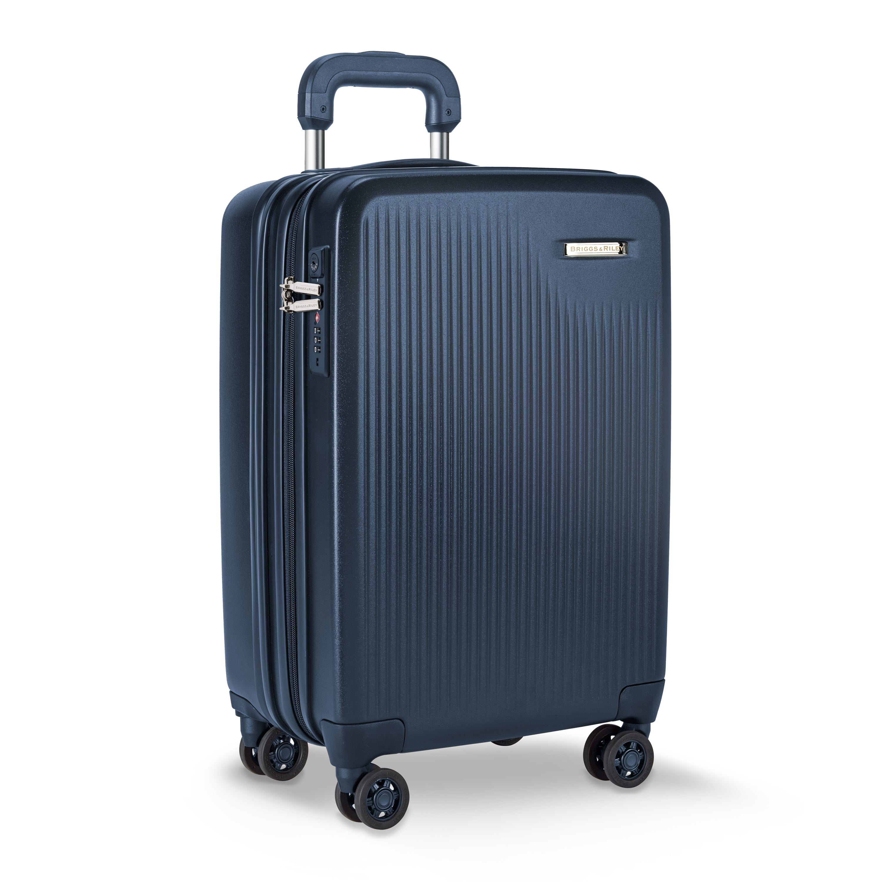 "Briggs & Riley Sympatico 21"" International Carry-On Expandable Spinner - Navy 