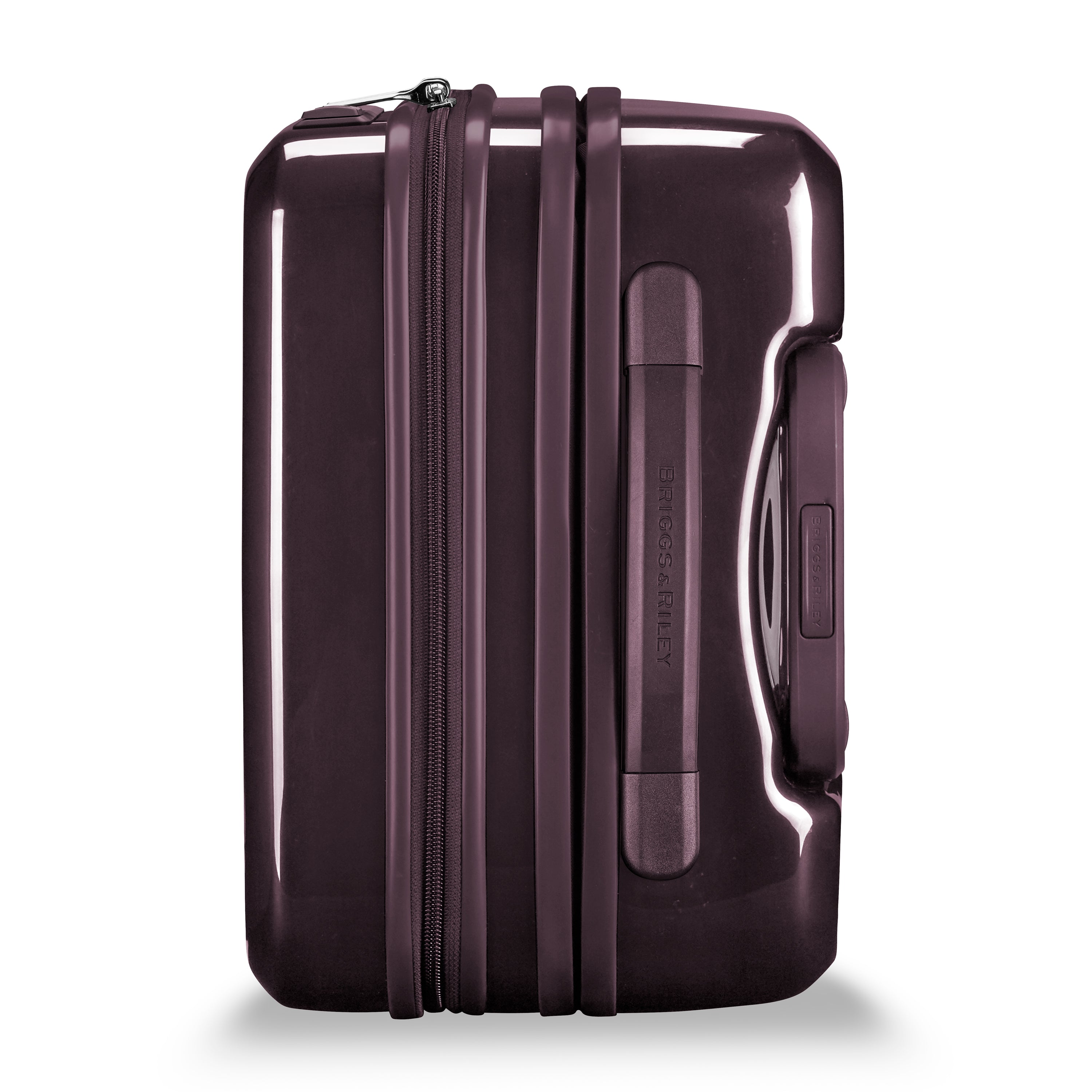 "Briggs & Riley Sympatico 21"" International Carry-On Expandable Spinner - Plum"