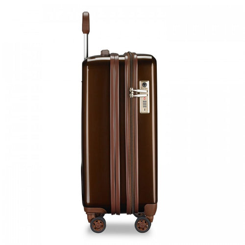 Briggs & Riley Sympatico Domestic Carry-On Expandable Spinner- Bronze | MEGO