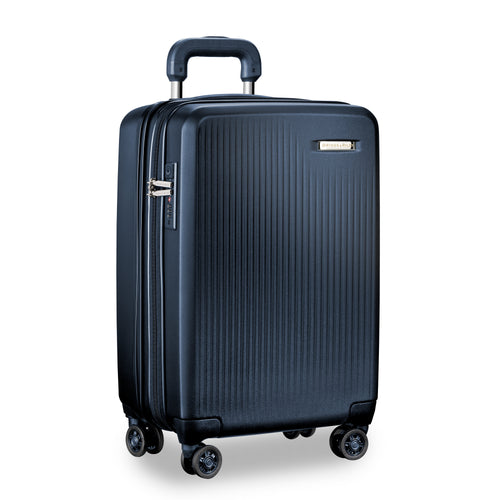 BRIGGS & RILEY SYMPATICO DOMESTIC CARRY-ON EXPANDABLE SPINNER- NAVY | MEGO Canada