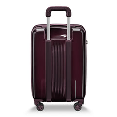 Briggs & Riley Sympatico Domestic Carry-On Expandable Spinner- Plum