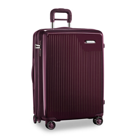 "Briggs & Riley Sympatico 30"" Large Expandable Spinner - Plum"