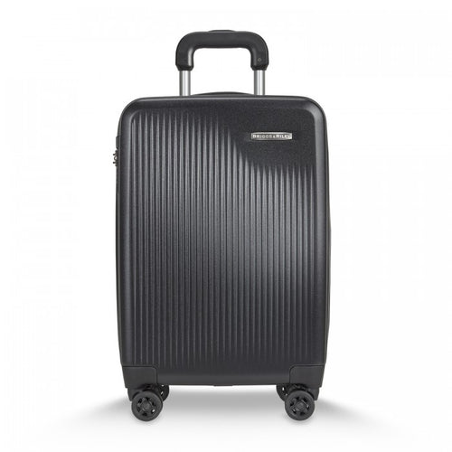 "Briggs & Riley Sympatico 21"" International Carry-On Expandable Spinner - Black 