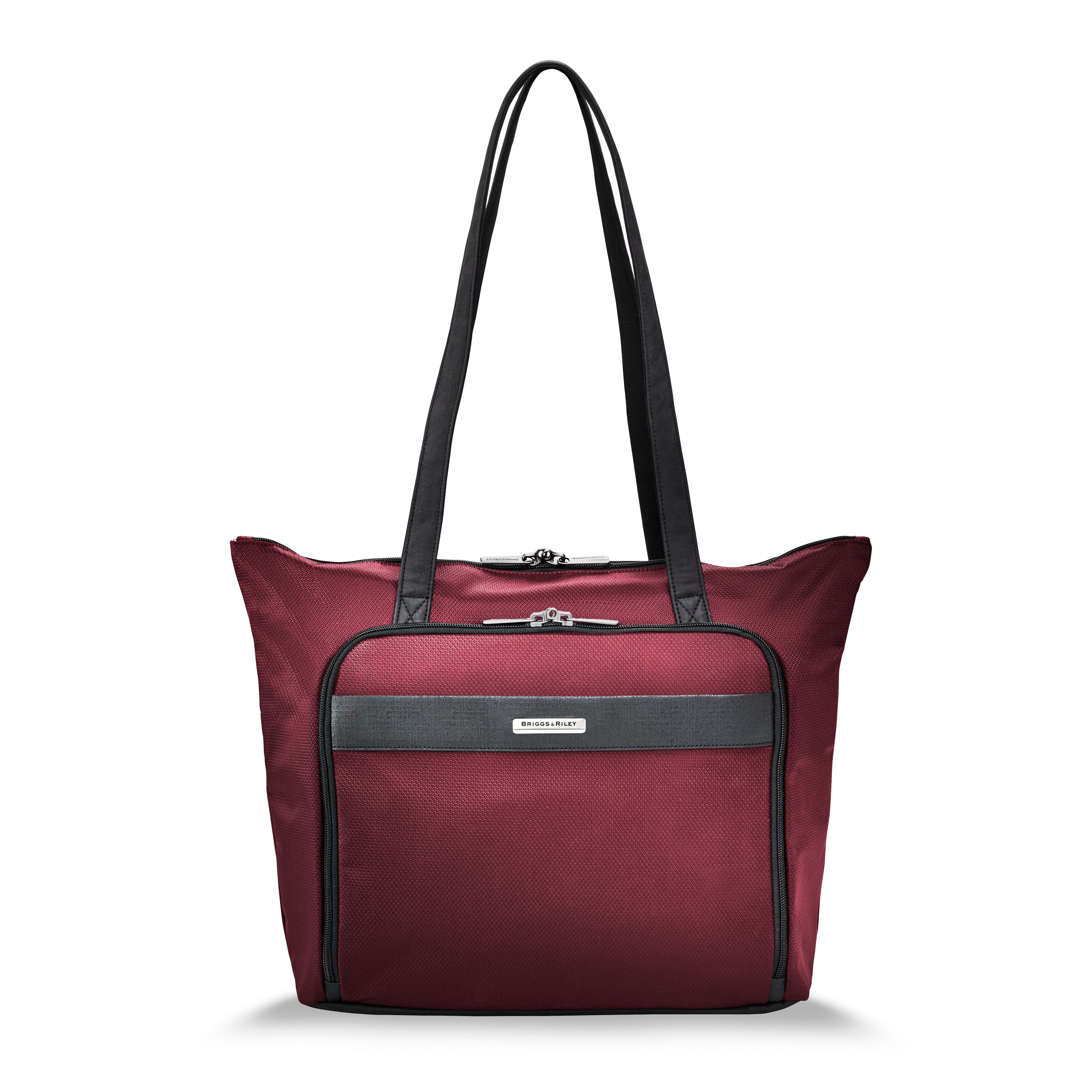 Briggs & Riley Transcend Shopping Tote - Merlot | MEGO