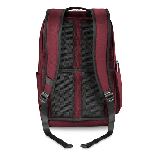 Briggs & Riley Transcend Cargo Backpack - Merlot | MEGO