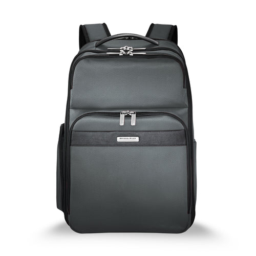 Briggs & Riley Transcend Cargo Backpack - Slate | MEGO