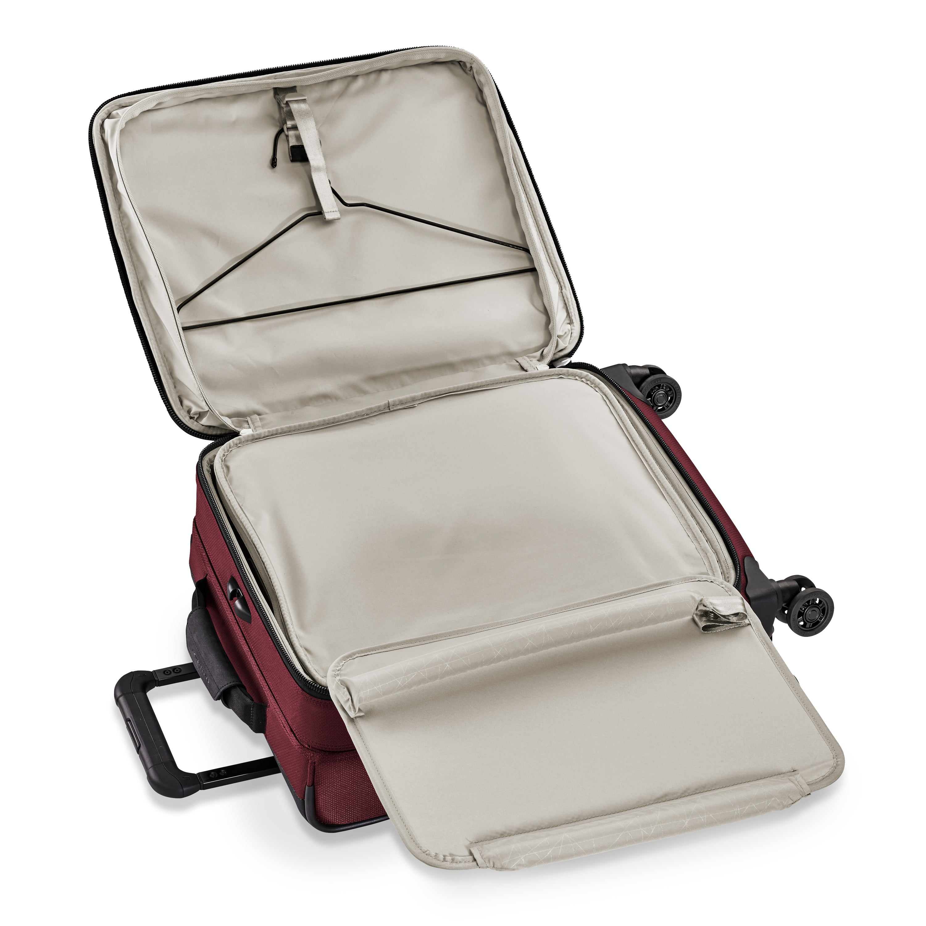 Briggs & Riley Transcend Wide Carry-On Expandable Spinner - Merlot | MEGO