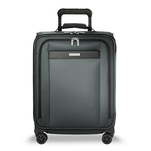 Briggs & Riley Transcend Wide Carry-On Expandable Spinner - Slate | MEGO