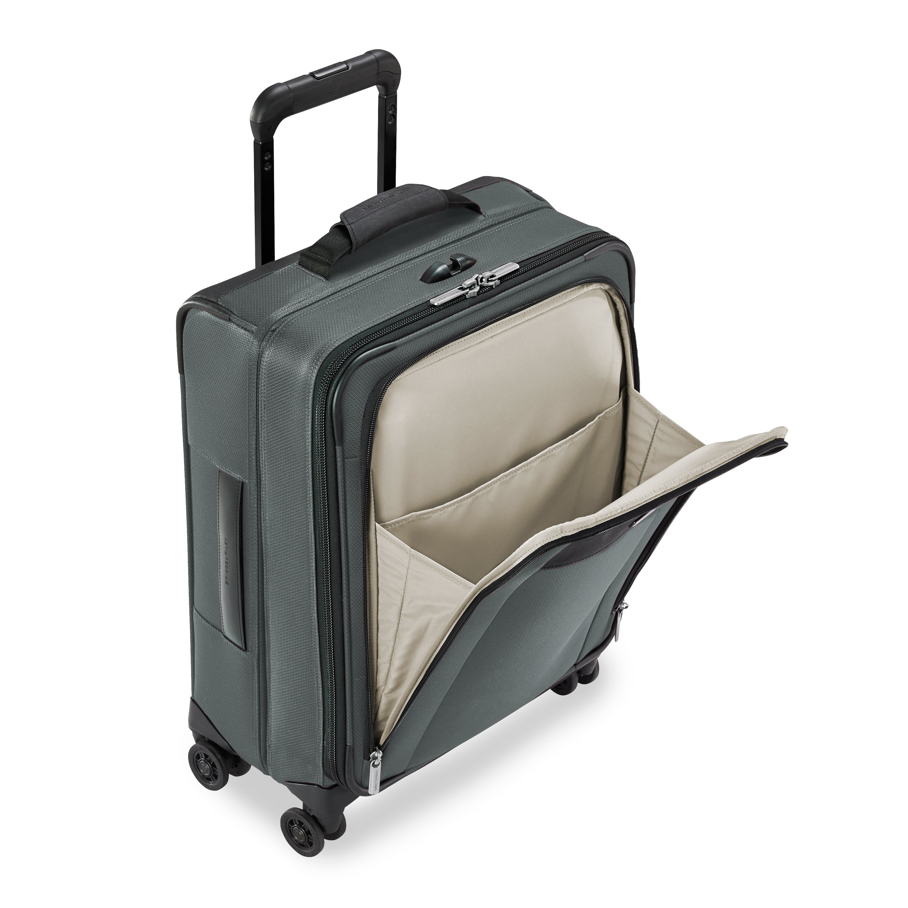 Briggs & Riley Transcend Wide Carry-On Expandable Spinner - Slate