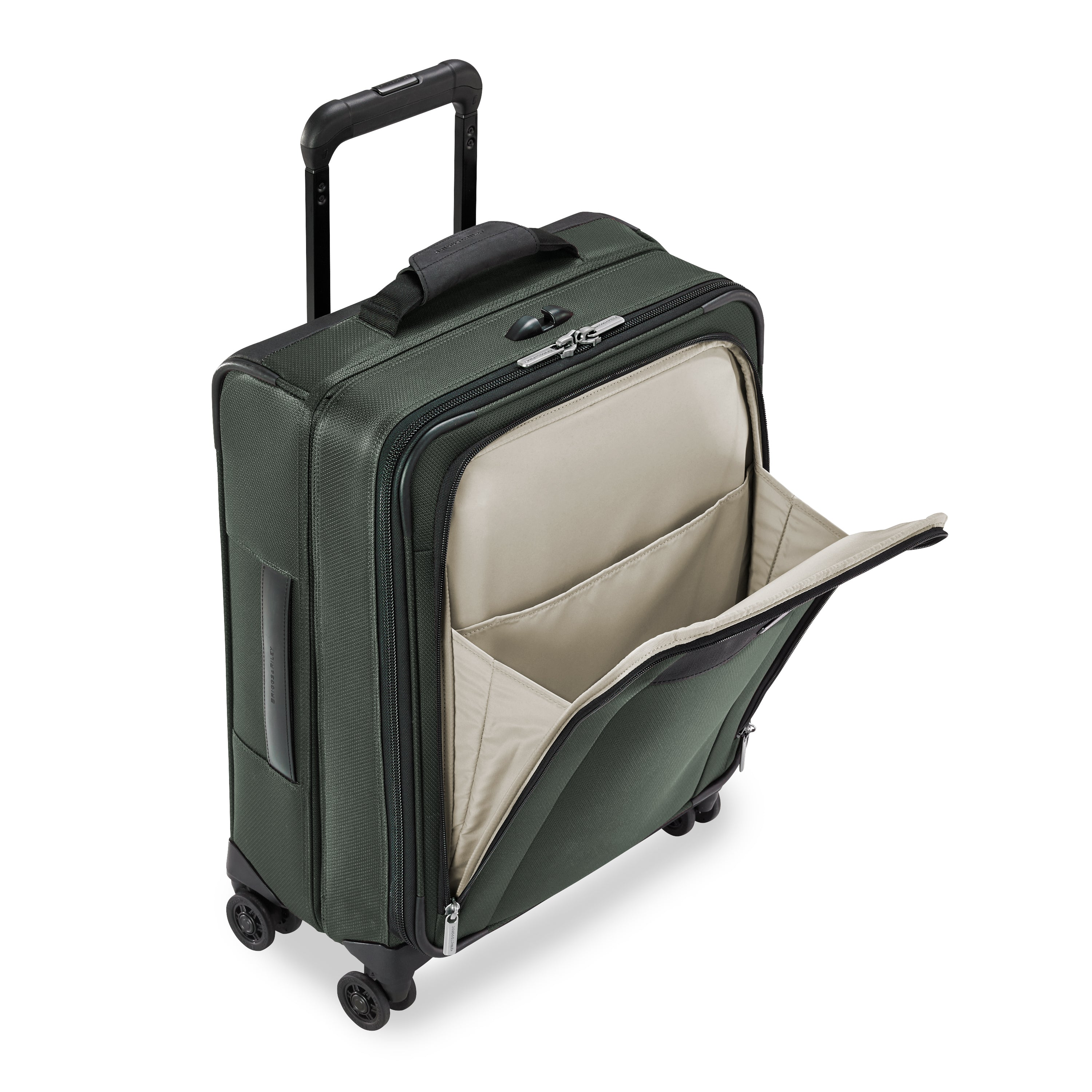Briggs & Riley Transcend Wide Carry-On Expandable Spinner - Rainforest | MEGO